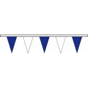Triângulos azuis/brancos