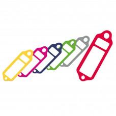 Etiquetas Plástico estreitas